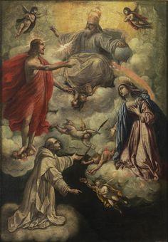 """""""Visión de San Bruno"""", Rutilio Manetti, Siglo XVII"""