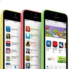 Unlocked Smartphones - Apple iPhone 5C 4.0 8GB/16GB/32GB GSM Factory Unlocked Smartphone Cell Phone 5 Colors (Certified Refurbished) (Pink - 8G)