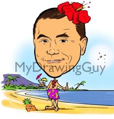 Custom Digital Caricature