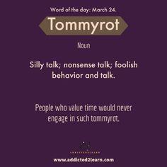 foolish behavior and talk. Advanced English Vocabulary, Learn English Grammar, English Vocabulary Words, Learn English Words, English Phrases, English Language Learning, Good Vocabulary, Vocabulary Strategies, Vocabulary Games