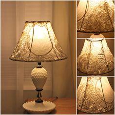 Spun by Me: A Lacey Lamp