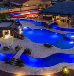 Backyard Lazy River, Lazy River Pool, Luxury Swimming Pools, Luxury Pools, Outdoor Areas, Outdoor Rooms, Outdoor Cat Shelter, Backyard Projects, Backyard Ideas