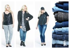 Having trouble finding the perfect plus size jeans? We help you naviagte this process with our Style plus size denim guide! Fashion 101, Fitness Fashion, Jeans Fit, Jeans Style, Plus Size Online Shopping, Plus Size Summer, Plus Size Jeans, Online Clothing Stores, Casual Dresses For Women