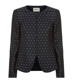 Armani Collezioni Circle Print Zip-Up Jacket available to buy at Harrods.Shop clothing online and earn Rewards points.