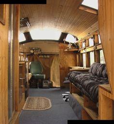 school bus gypsies | 1946 Cheverolet schoolbus conversion to a medicine show gypsy wagon