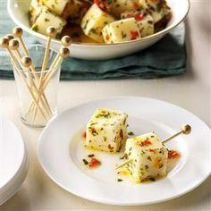 Marinated Mozzarella Recipe | Taste of Home