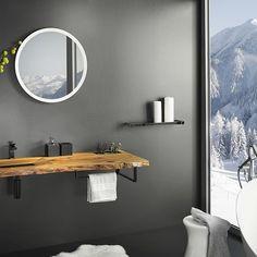 Formen & Größen der Waschtische aus Holz Bathroom Design Inspiration, Bathroom Cabinets, Keep It Cleaner, Wall Lights, Interior Design, Furniture, Home Decor, Houses, Holiday