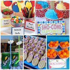 Pool Party Snack Ideas pool party dessert ideas teddy grahams in pudding fun food party printables by Pool Party Decor Way To Do Snacks Inspiration