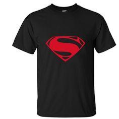 2016 New brand clothing American superman Comic Printed T Shirt Men Women Superhero T Shirts Summer. Click visit to buy #T-Shirts