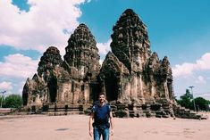 Me and my backpack in the City of Monkeys! This Temple has been conquered by monkeys and they have created a community here! Travel Trip, Adventurer, Backpacker, Thailand Travel, Monkeys, Barcelona Cathedral, Monument Valley, Temple, Thats Not My