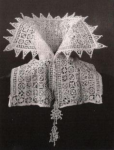 Italian collar, 1610