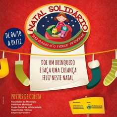 Campanha Natal Solidário - 2015 | Prefeitura de Pindamonhangaba