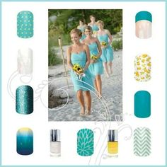 Wedding jamberry Combos. To see more just click on the image. Want FREE samples, send me a message. LIKE my FB page at : Sharron Chatham - Jamberry independent consultant