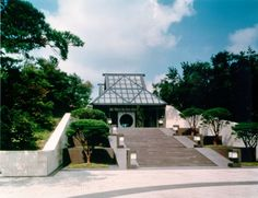 I.M. Pei, Miho Museum, Entrance Commercial Architecture, Modern Architecture, Miho Museum, Gazebo, Entrance, Outdoor Structures, Awesome, Architects, Outdoor Decor
