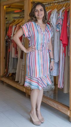 Plus Size Summer Dresses has never been so Stunning! Since the beginning of the year many girls were looking for our Magical guide and it is finally got released. Now It Is Time To Take Action! See how... Cute Fashion, Modest Fashion, Fashion Dresses, Fashion Looks, Fashion Clothes, Fashion Ideas, Women's Fashion, Pretty Outfits, Stylish Outfits