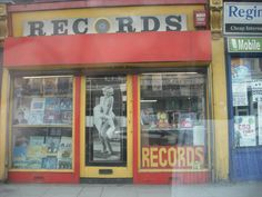 old record shop I WANT TO GO TO ONE!