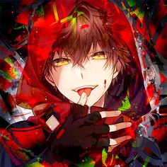 ADOPTED this is Talon, he is a vampire and he can speak Russian, Spanish, German, French, Italian, and Japanese, he is talented but he always wears his hood up so no one can see his face, he gets angered easily and adores pretty girls he would never hurt a girl in his life and hates anyone who harms them.
