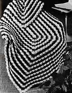 Cockleshells Afghan Pattern free from freevintagecrochet.com