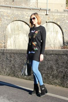 Rock the embroidery fashion trend without breaking the bank (Fashion Blogger Outfit)