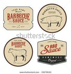 Image from http://thumb7.shutterstock.com/display_pic_with_logo/1291954/156736181/stock-vector-set-of-vintage-homemade-barbecue-sauce-labels-156736181.jpg.