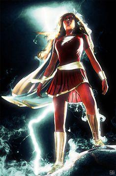 Mary Marvel by Daniel Scott Gabriel Murray