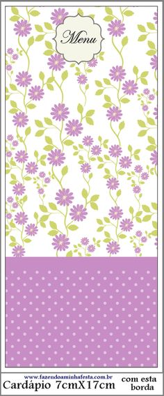 Floral Printables, Party Printables, Free Printables, Lavender Flowers, Purple Flowers, Border Design, Pattern Design, Digital Paper Free, Floral Border