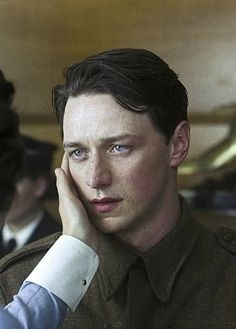 James McAvoy…..this movie made me tear:p