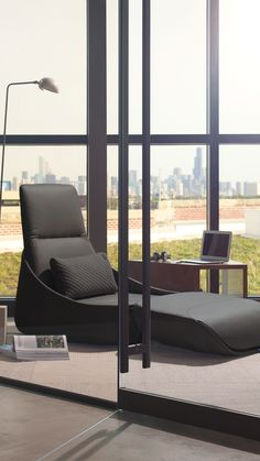 Hosu Lounge Seating, With Its Convertible Chaise Foldout, Offers Workers A  Cozy Spot To