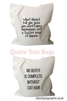 Tote Bags - Funny Coffee Mugs - Funny Gifts by BlackTypographic Funny Coffee Mugs, Coffee Humor, Funny Mugs, Funny Gifts, Sarcastic Quotes, Funny Quotes, True Quotes, Canvas Totes, Canvas Tote Bags