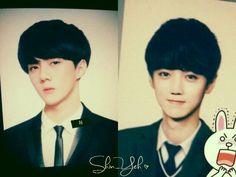 Hunhan <3 <3 <3 They looked like twins!