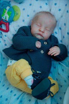 ~Realistic Reborn Baby BOY new  kit  Levi Bonnie Brown~ Baby  Stéphanie Lefebvre