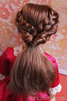 Trendy Braids For Kids Tutorial Good Morning America 21 Ideas Ag Doll Hairstyles, American Girl Hairstyles, Cute Hairstyles, Braided Hairstyles, Braids For Kids Tutorial, Ag Hair Products, My American Girl Doll, Braided Ponytail, Hair Hacks