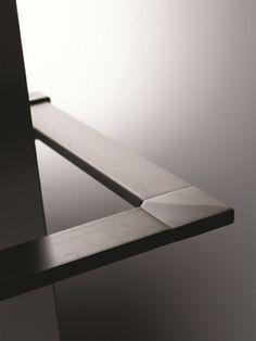 Main courante en aluminium SQUARE LINE 40x10 - Q-RAILING ITALIA