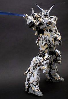 GUNDAM GUY: MG 1/100 Unicorn Gundam - Customized Build