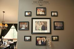 wedding wall photos
