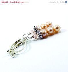End of Summer SALE Handmade Earrings Petite by BrossARTaddiction, $3.25