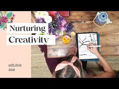Nurturing Creativity with Anja Jane - YouTube Beautiful World, The Creator, Creative, Illustration, Youtube, Art, Art Background, Kunst, Illustrations