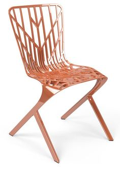 David Adjaye's cantilevered chairs establish a play between propping and balancing, so that they are simultaneously functional and sculptural.
