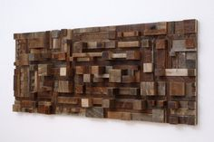 22 Amazing Creative Great Ideas For Wood Wall Art Decor Ideas In Reclaimed Wood City Scape Wall Art Idea