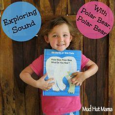 Polar Bear, Polar Bear, What Do You Hear Activities - Mud Hut Mama
