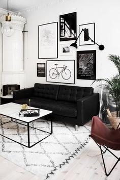 70 Best Living Room Ideas Black Sofa Images