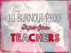 Teacher burn-out is real. I know that I've experienced it several times and I'm guessing that you have too. None of us are immune to teacher burnout – it doesn't matter if this is your first or fifteenth year in the classroom – we're all susceptible.