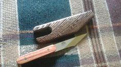 Tulipwood Kiridashi custom knife от Riversbendcustomkniv на Etsy