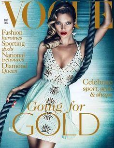 British Vogue - British Vogue June 2012 Cover