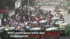 WHO perkirakan lebih dari 92% orang terpengaruh dampak polusi udara. Kondisi di Asia Selatan khususnya sangat parah. Kualitas udara yang buruk menyebabkan lebih dari 600.000 kematian di India dan 37.000 di Bangladesh setiap tahun. Versi awal dipublikasikan pada - http://www.voaindonesia.com/a/polusi-udara-di-asia-selatan/3529175.html