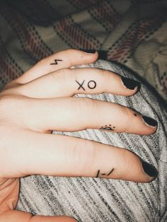 Small hand tattoos