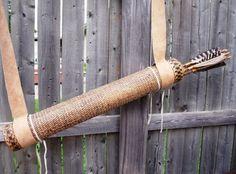 basket weave quiver