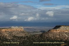 Afternoon clouds over the Espanola Valley from the Hill Road, Los Alamos, New Mexico. IMG_C_20059 by The Bright Edge - Photography by Anne Slattery, via Flickr