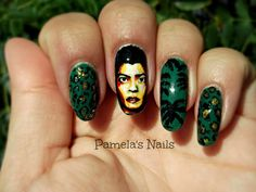 I would totally do this to my nails. #lovemesomebruno