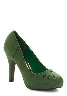 Let It Fern Heel | Mod Retro Vintage Heels | ModCloth.com